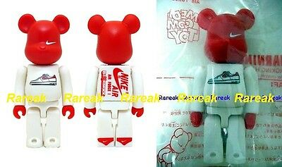 Medicom Be rbrick 2004 Nike Lunar Air Force One 100% AF1 Bearbrick 1pc 844961b722