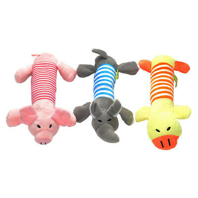 Pet Dog Cat Funny Fleece Durability Plush Dog Toys Squeak Chew Toy Fit for Pets