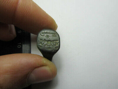 Medieval ring  The secret key.  Metal detector finds 100% original