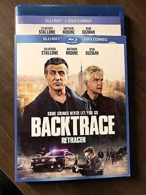 NEW Backtrace Blu Ray & DVD w Slipcover Canada Sealed 2019 Sylvester Stallone