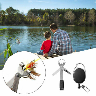 Outdoor Fishing Quick Knot Tool Fishing Tackle Grinding Hook Portable Keychain