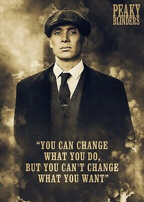 Peaky Blinder, TV Series, Thomas Shelby Poster Print, Wall Art, Home Decor, Gift