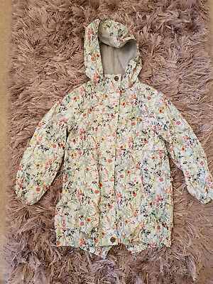 NEXT GIRLS RAIN JACKET AGE 5 YEARS 110cm