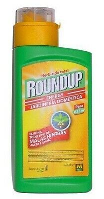 Herbicida Roundup Energy Pro Glifosato 45% Monsanto 500 Ml