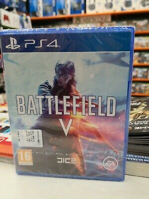 Ps4 Playstation 4 Battlefield V 5 Supporto Fisico Dvd Nuovo Originale Italiano