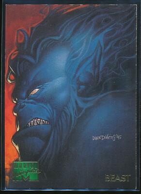 1995 Marvel Masterpieces Trading Card #7 Beast