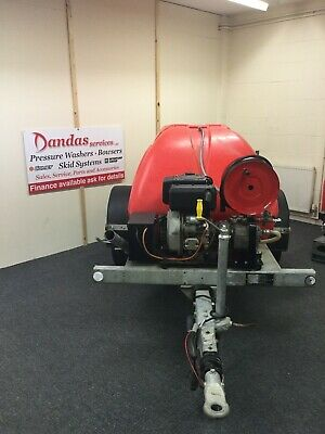 PRESSURE WASHER/WATER BOWSER 1000L Yanmar Diesel *FREE UK MAINLAND DELIVERY