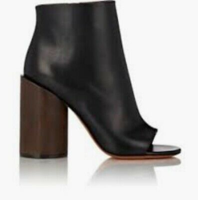 givenchy heels wooden heel size 6