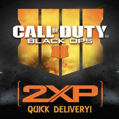 Call of Duty Black Ops 4 - Double XP Codes 30 Min. - QUICK DELIVERY (PS4/XB1/PC)