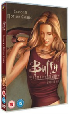 Buffy the Vampire Slayer: Season 8 - Motion Comic (UK IMPORT) DVD [REGION 2] NEW
