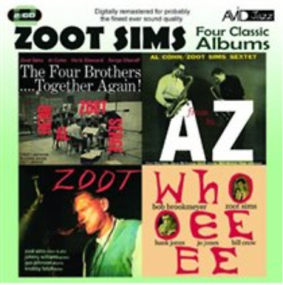 Zoot Sims-Four Classic Albums (UK IMPORT) CD NEW