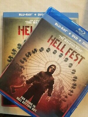 Hell fest ( Blu Ray 2019)  *Combine Shipping & SAVE! Ships FAST!!!
