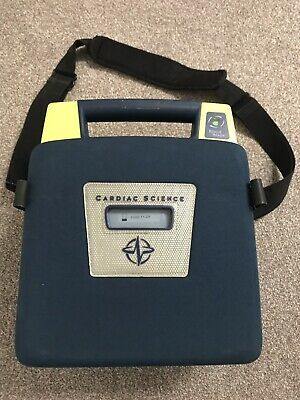 Cardiac Science G3 Semi Auto AED With Battery, Pad And Carry Case