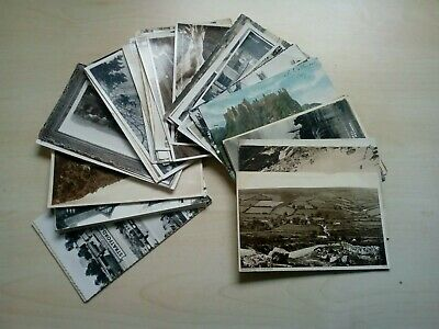 Job Lot Of 50 Old Vintage Picture Postcards Mix Of Various Subjects