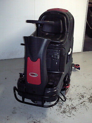 Viper AS710R battery powered 28 inch ride on floor scrubber drier cleaner