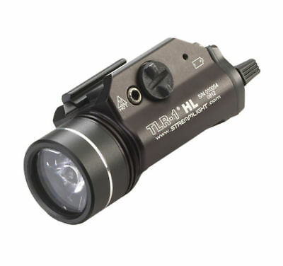 Streamlight TLR-1 HL 800 Lumens Tactical LED Light With Strobe and Rail Mounts