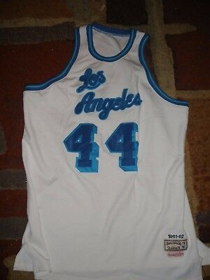 0599c54cea3 JERRY WEST AUTHENTIC Mitchell   Ness Jersey size 52 LAKERS -  60.00 ...