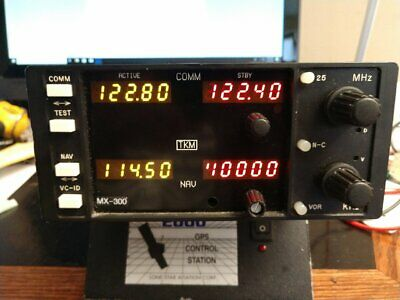 TKM MX-300 NAV/COM  Very clean , high serial# unit..