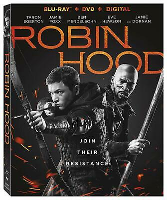 Robin Hood Blu-ray Only, Please read