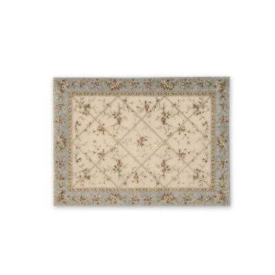"""1:48 Scale Dollhouse Area Rug 0000543 - approximately 2-3/8"""" x 3-1/4"""""""
