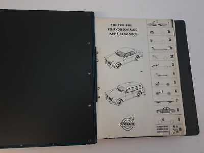 Volvo Amazon P130 P220 B20 parts catalogue Genuine