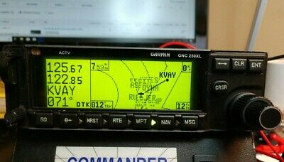 Garmin VFR Moving Map GPS GNC250XL Exceptionally clean with FAA 8130