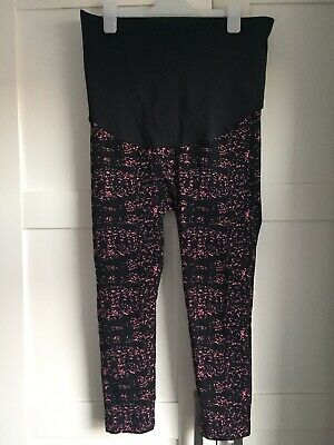 Maternity Gym/ Workout Leggings - Blooming Marvellous (Mothercare) - Size L