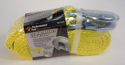 """Performance Tool W1420 Emergency Tow Rope 1"""" X 15'"""