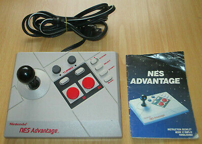 Nintendo Advantage NES Joypad + Manual - PAL Version