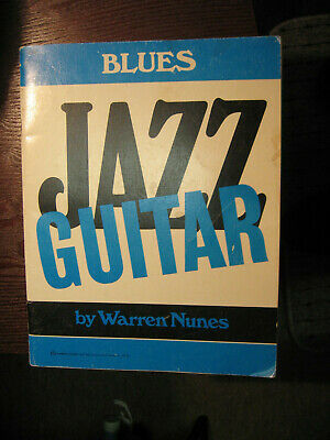 2 Warren Nunes Books Lot- His Blues Book And His Rhythm & Background Guitar Book