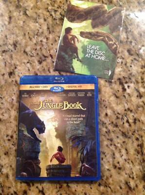 The Jungle Book (Blu-ray/DVD, 2016, Includes Digital Copy)Authentic Disney US