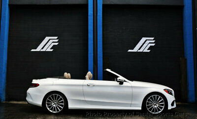 2018 Mercedes-Benz C-Class C 300 Cabriolet 2018 Mercedes Benz C300A AMG Sport Convertible 1 Owner Financing Available Trade