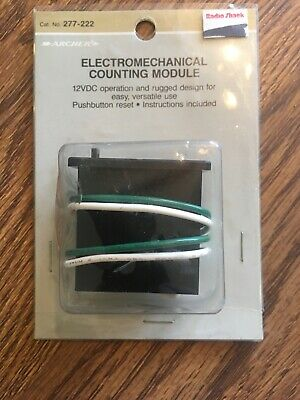 Archer electromechanical counting module 12 VDC in original unopened blister pac