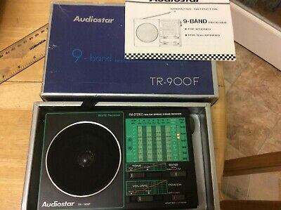 Audiostar 9 Band Fm Stereo/MW/SW 9 Band Receiver TR-900f