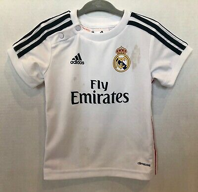 28048592a Real Madrid Adidas Official Soccer Uniform Set for Boys Infants 12 Months