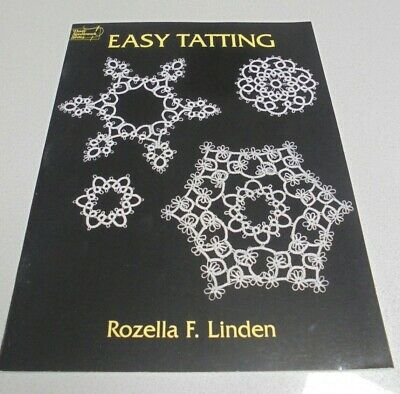 Easy Tatting by R Linden Fancy flowers, earings, star suncatcher snowflakes