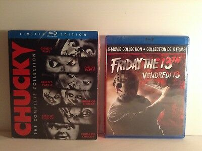 Chucky : complete collection + Friday the 13th:the complete collection (Blu-ray)