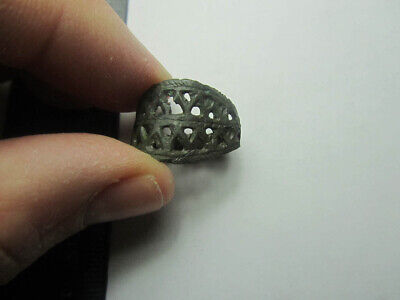 Ancient ring .  Metal detector finds 100% original