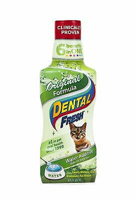 Dental Fresh Water Additive – Original Formula for Cats – Clinically Proven