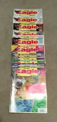 12 issues of The New Eagle Monthly magazine, from 1991/1992