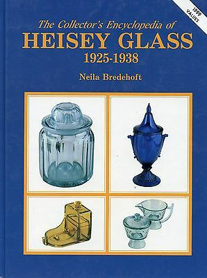Encyclopedia of Heisey Glass 1925-1938 Patterns Dates Values / Illustrated Book