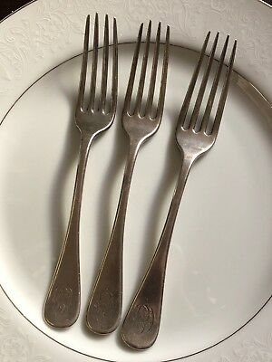 Tiffany And Co Dinner Fork. Sterling Set Of 3