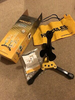 Hercules Stands Trumpet Cornet Flugelhorn Stand With Carry Bag Used In Box