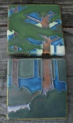 Motawi Tileworks designed by Ann Arbor Michigan A Tree Tiles 4 by 4