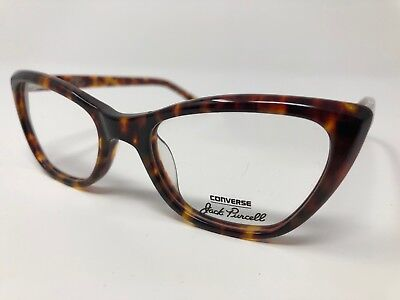 d59a616ef4 Converse Jack Purcell P006 UF Eyeglass Frames Tortoise 51 19 140 CAT EYE  CR66