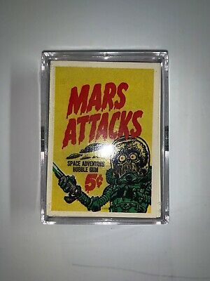 Topps Mars Attacks Trading Cards Complete Set 55 Cards