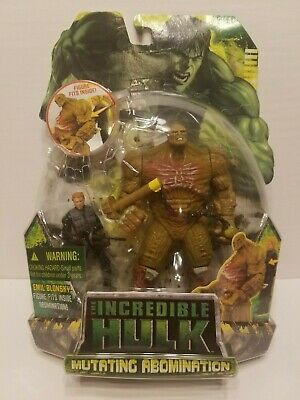 Marvels The Incredible Hulk Mutating Abomination Toy,RARE New Not Opened.