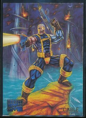 1995 Marvel Masterpieces Trading Card #15 Cable