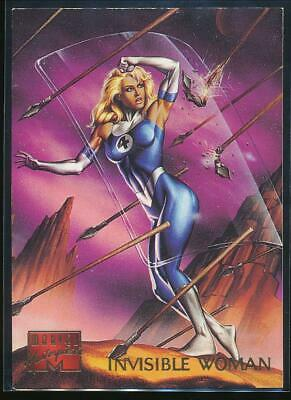 1995 Marvel Masterpieces Trading Card #49 Invisible Woman