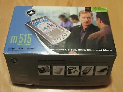 PALM m515 (NO PDA) ORIGINAL BOX WITH MANUAL, DISCS AND CRADLE CHARGER